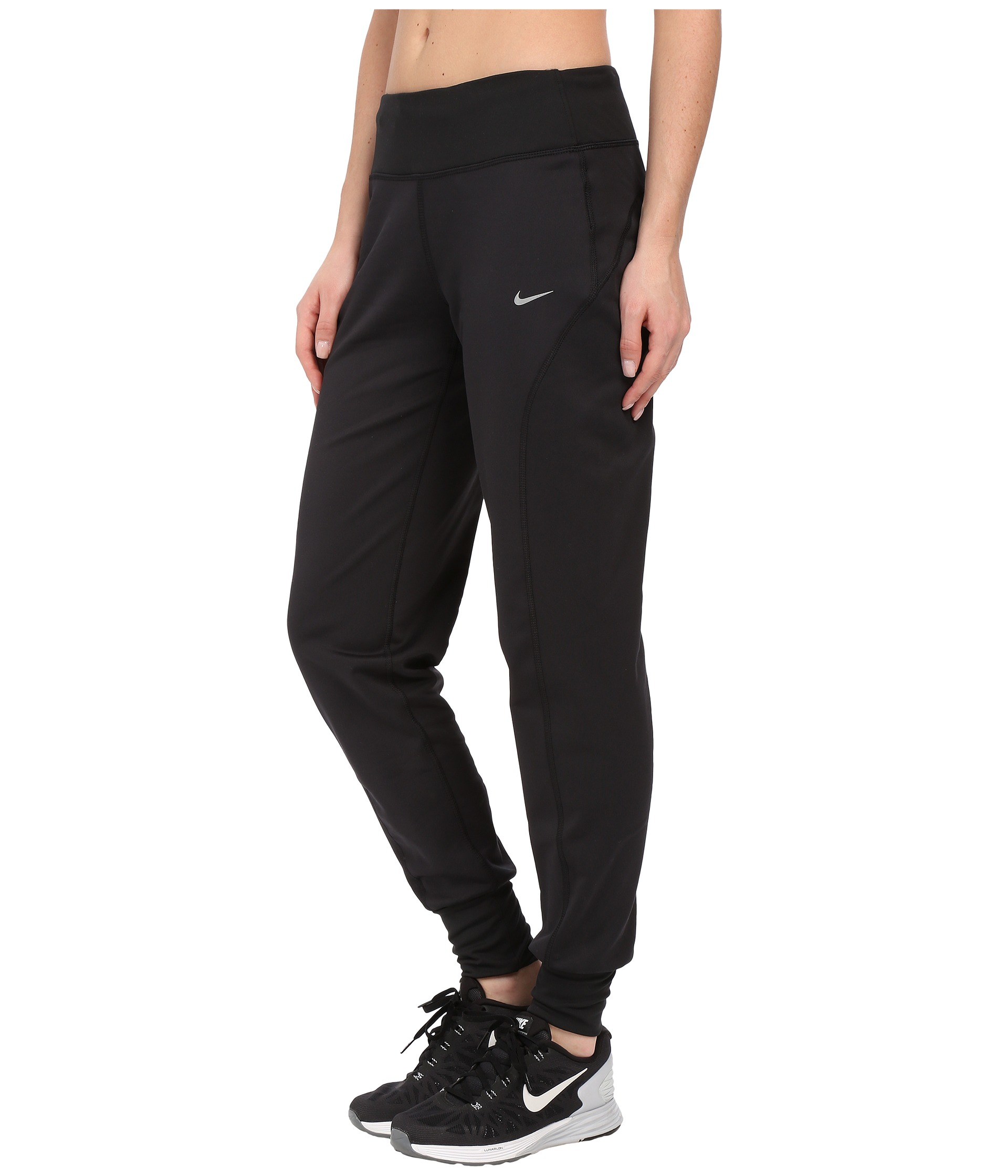 Lyst - Nike Thermal Running Pant in Black