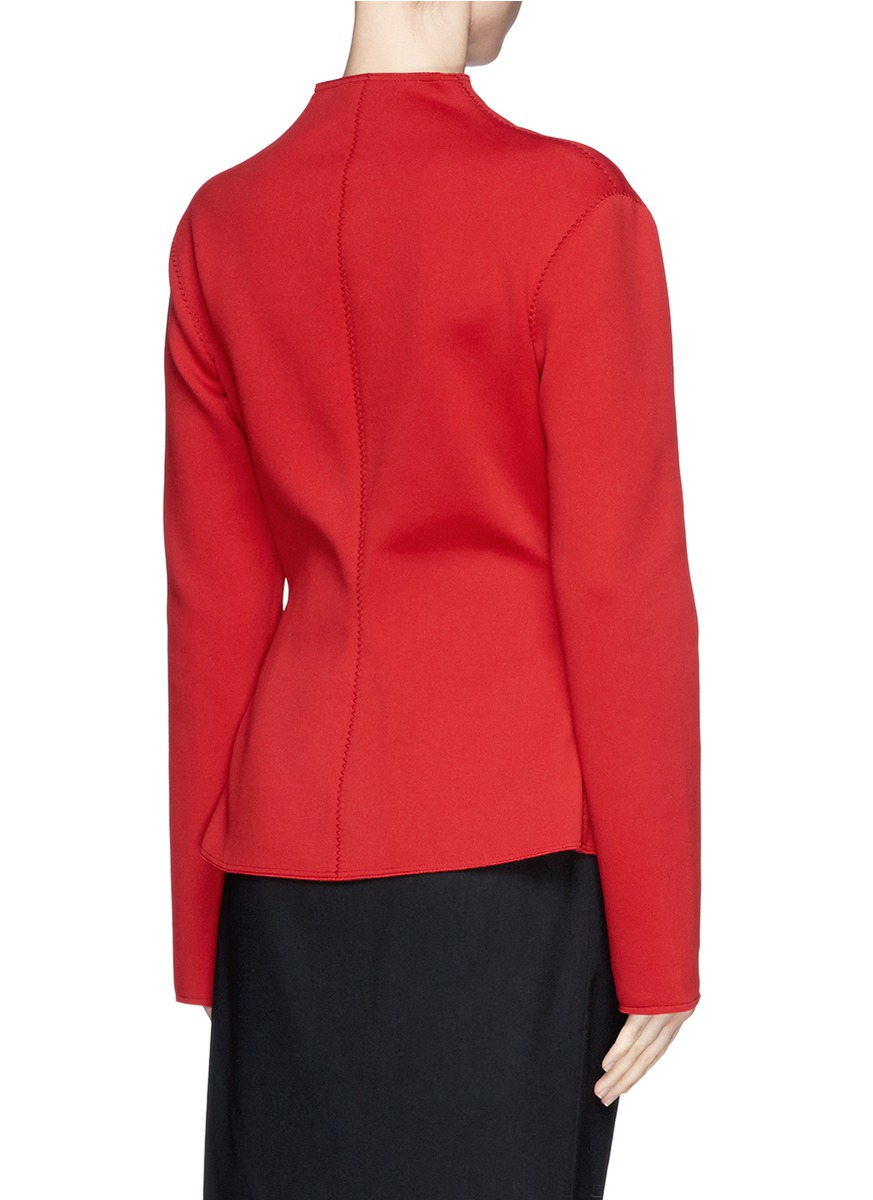 Find red peplum jacket at ShopStyle. Shop the latest collection of red peplum jacket from the most popular stores - all in one place.