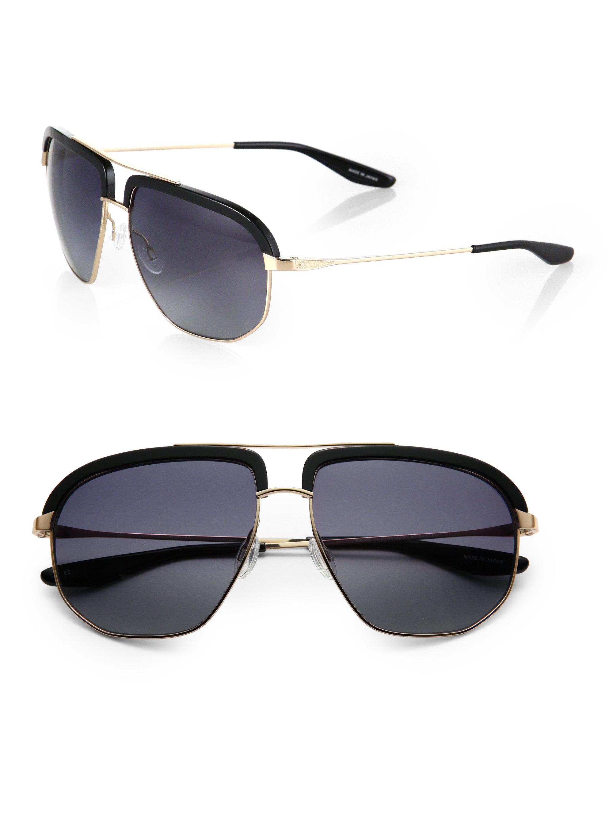 Maui Jim Warranty >> Barton Perreira Rhyging Metal & Acetate Sunglasses in ...