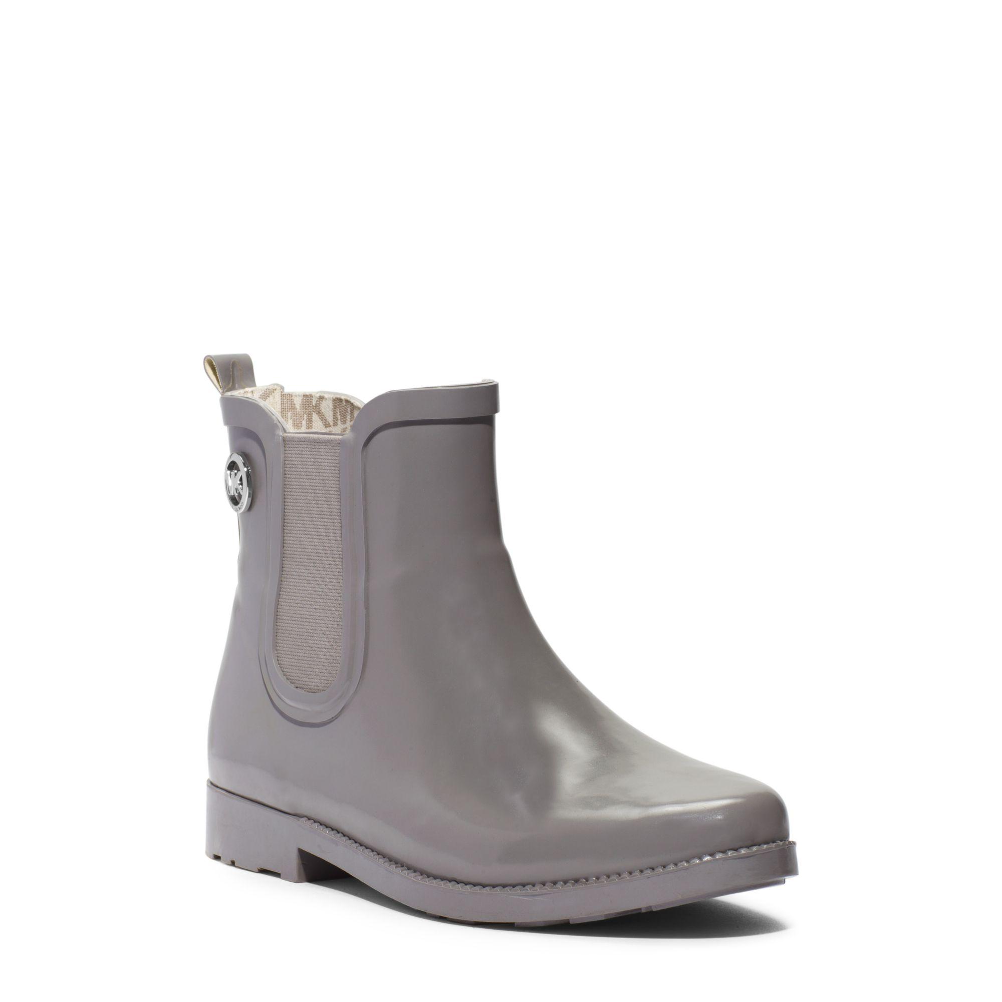 cb9cf30ea96720 Lyst - Michael Kors Short Rubber Rain Boot in Gray for Men