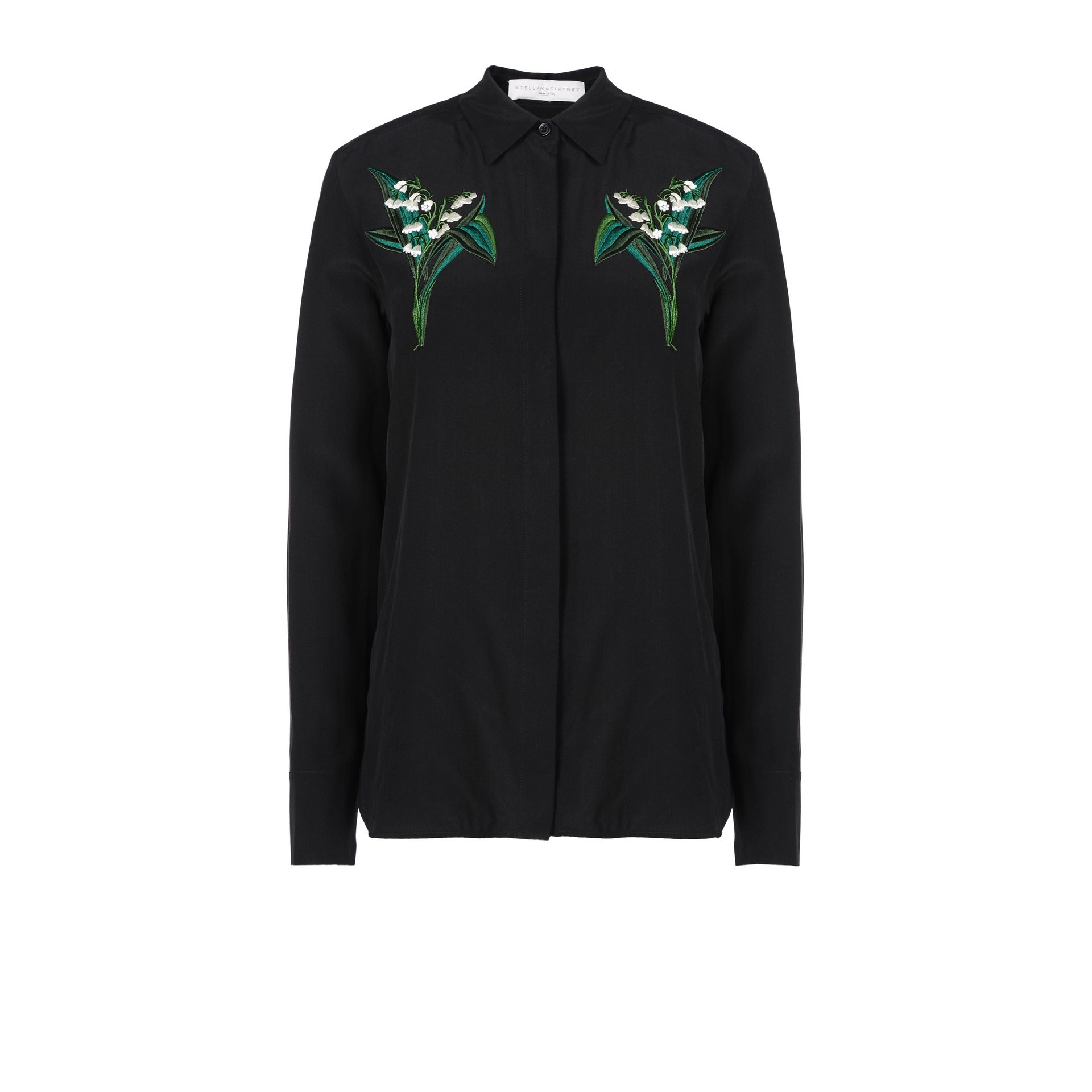 c63920cf6ddad Lyst - Stella McCartney Black Arlo Shirt in Black