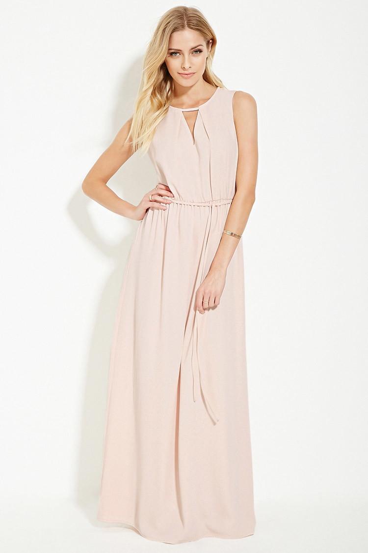 Light Pink Maxi Dresses