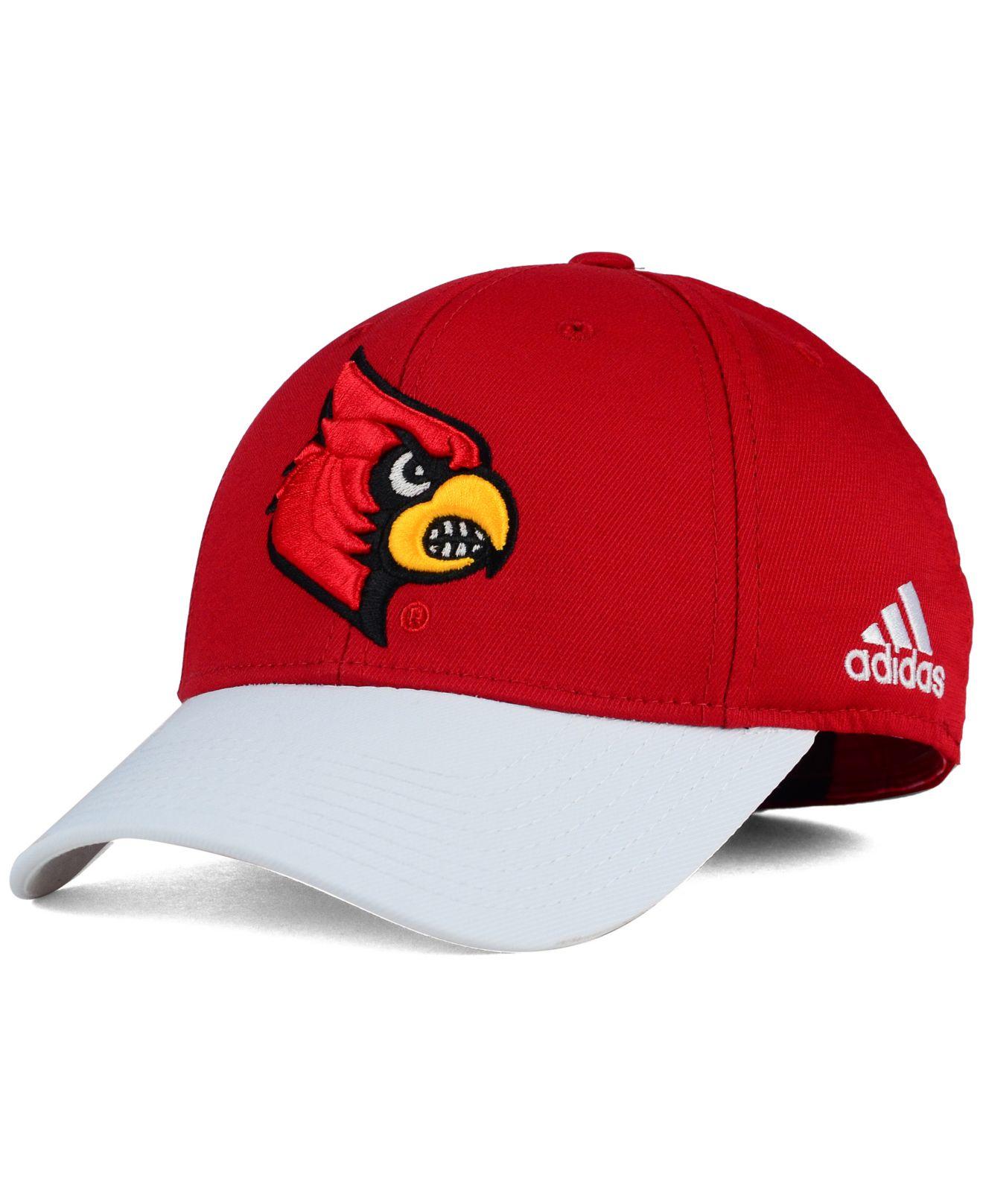 32269af845f Lyst - Adidas Originals Louisville Cardinals Structured Flex Cap in ...
