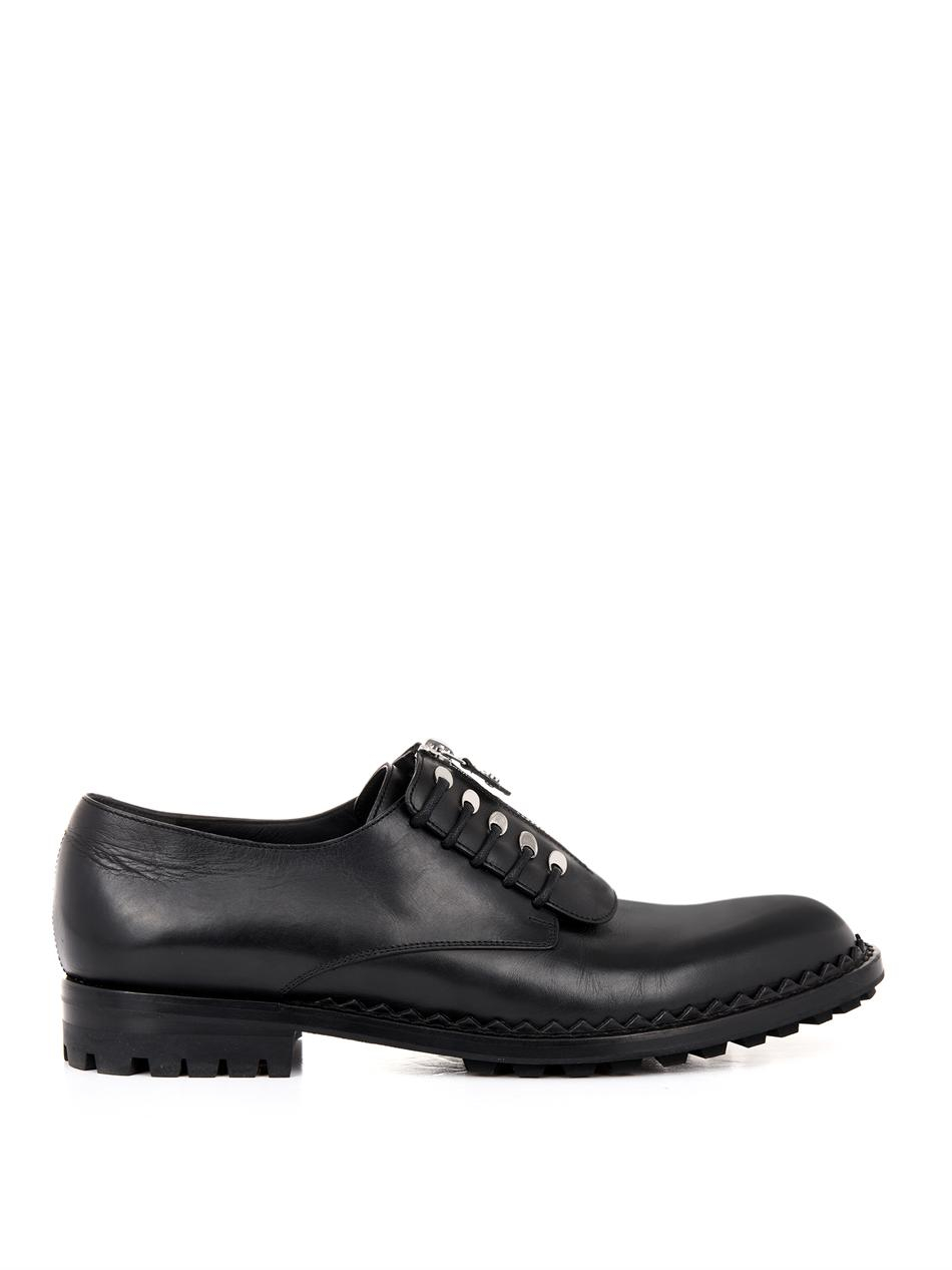 Balenciaga Leather Lace-Up Oxfords w/ Tags latest cheap online ZVQ3C