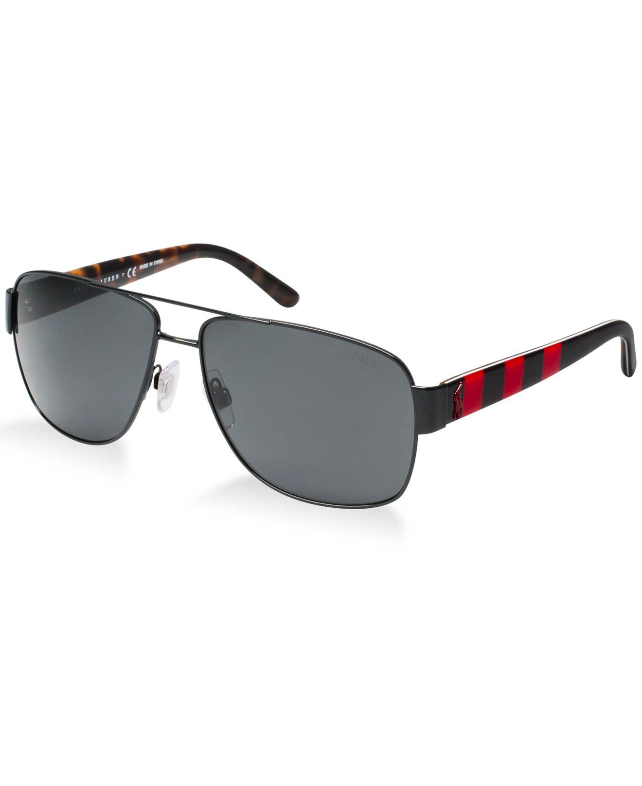 Ralph Lauren Ricky Sunglasses  ralph lauren polo sunglasses ph3085 in black for men lyst