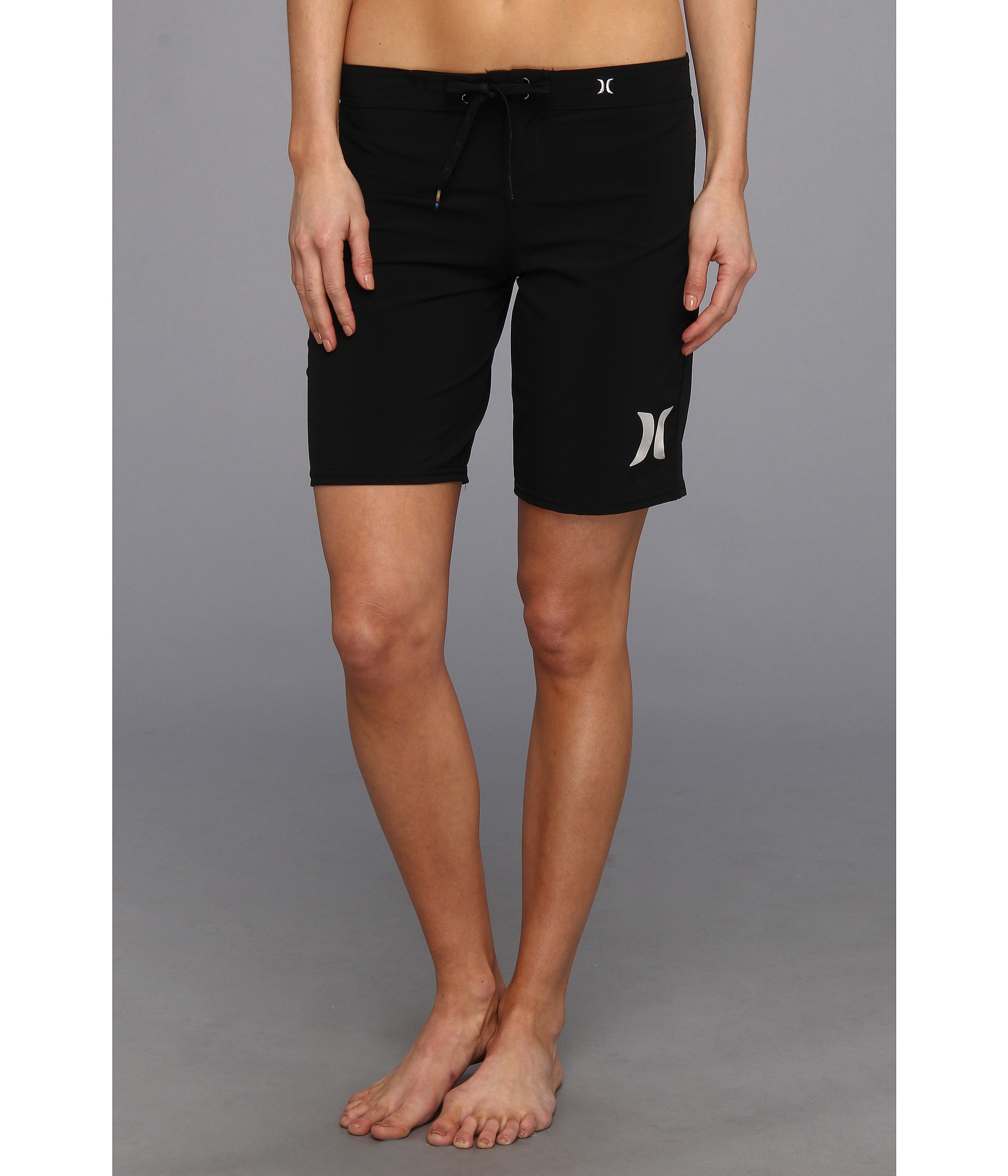 Hurley Phantom Solid 9 Beachrider Schwarz  Board Shorts