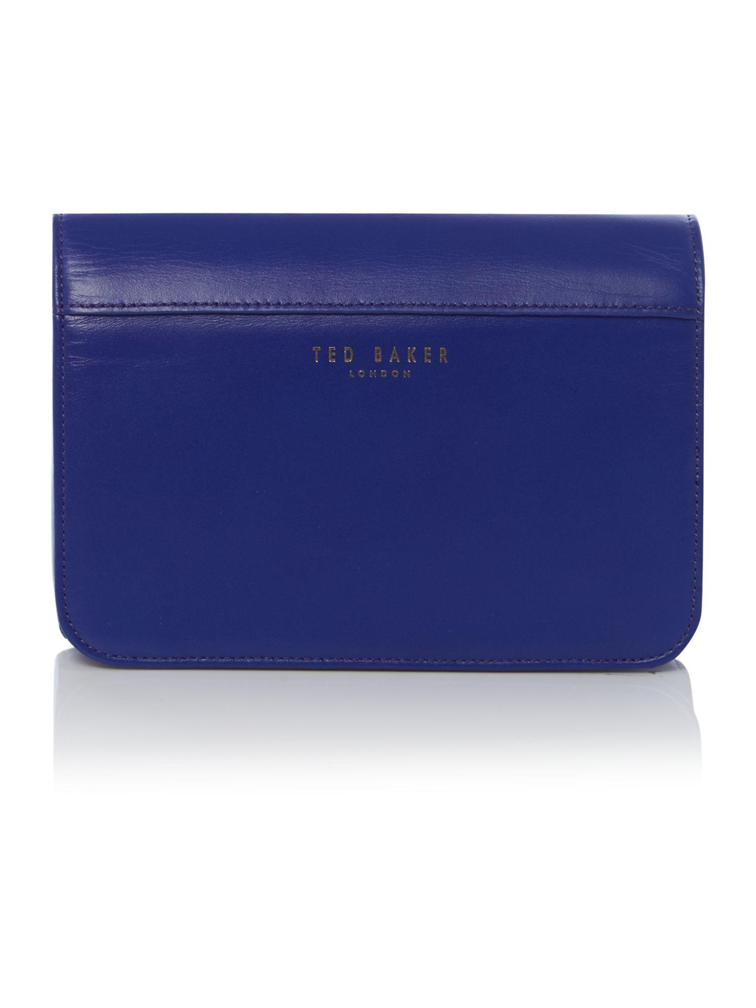 Ted Baker Khloe Blue Loop Bow Cross Body Bag