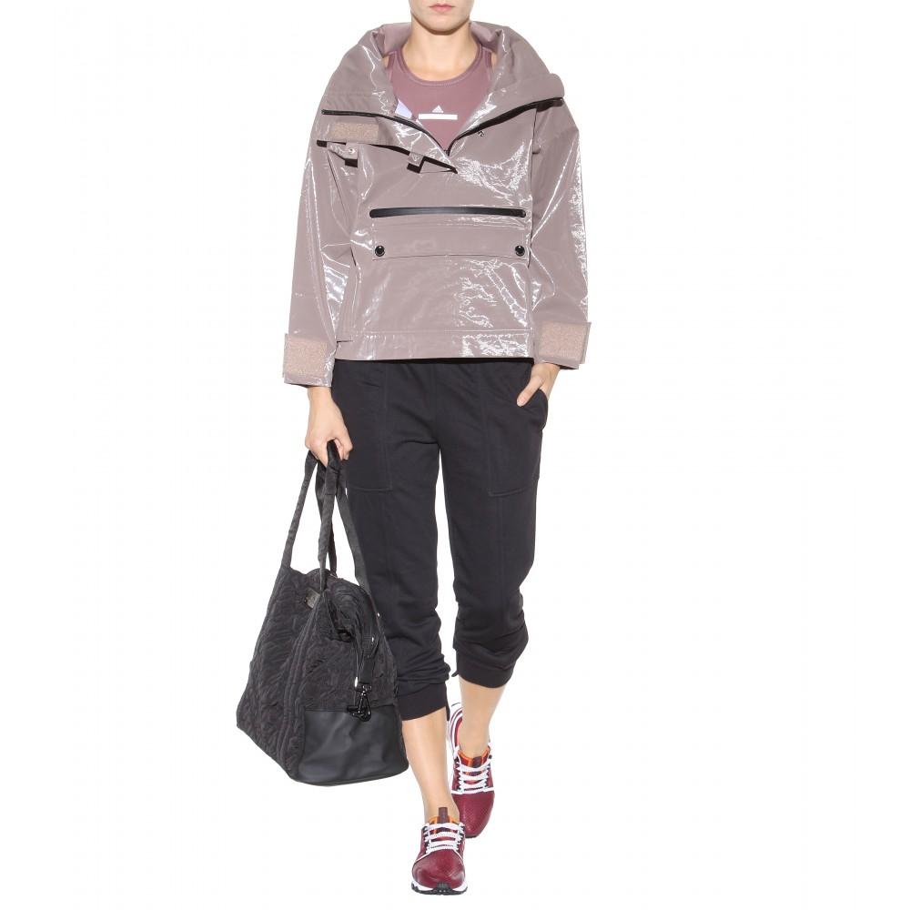 Adidas By Stella Mccartney Quilted Gym Bag In Black Lyst