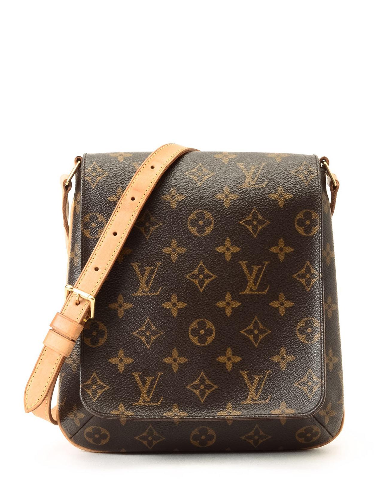 Lyst - Louis Vuitton Musette Salsa Long Strap Shoulder Bag in Brown 1374c7115a