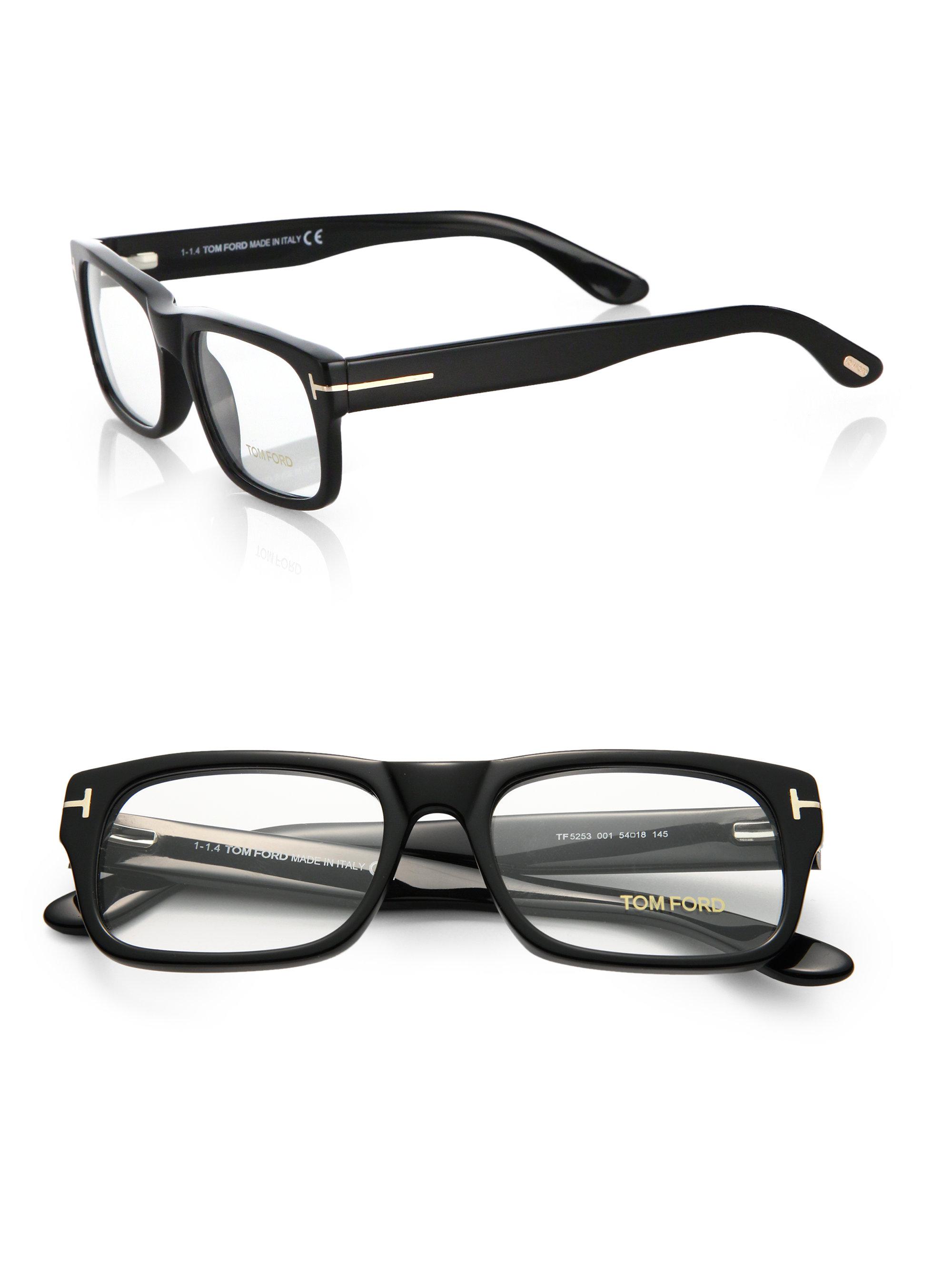 0d6bb1e9af56 Lyst - Tom Ford 5253 Bold Optical Frames in Black for Men