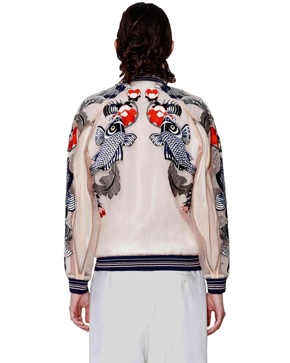 3.1 Phillip Lim Tattoo Embroidered Organza Jacket   SHOPBOP
