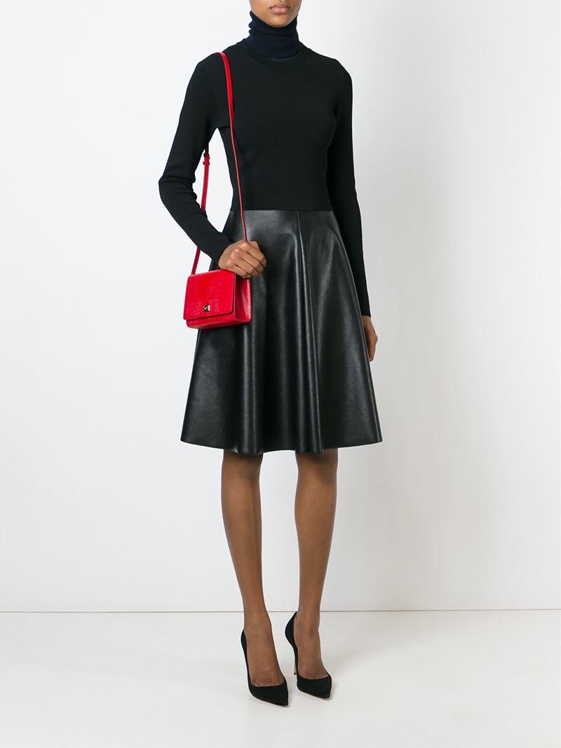 Dolce & Gabbana 'glam' Crossbody Bag in Red