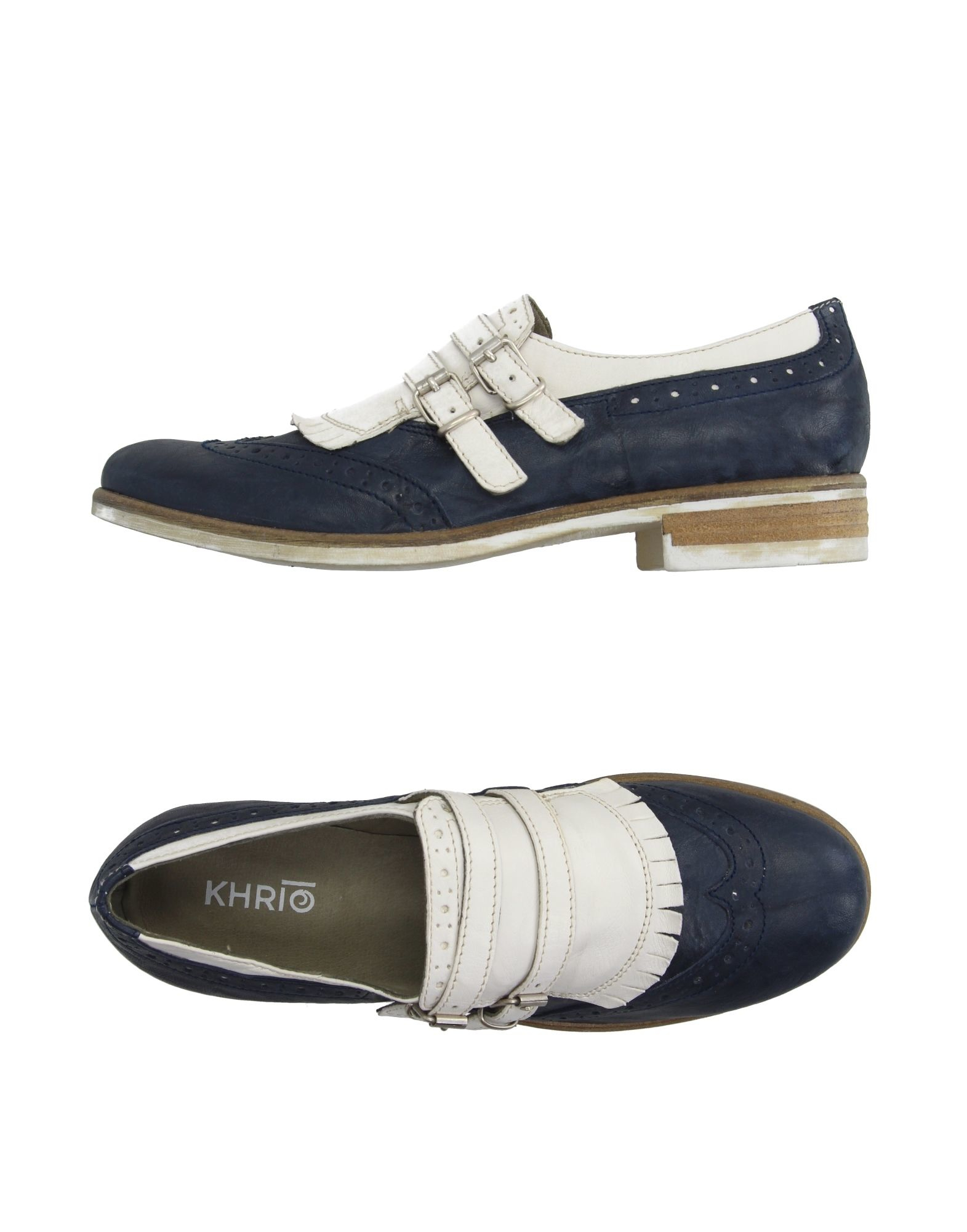 Khrio Loafer In Blue Lyst