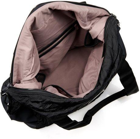 Adidas By Stella Mccartney Big Quilted Gym Bag In Black Lyst