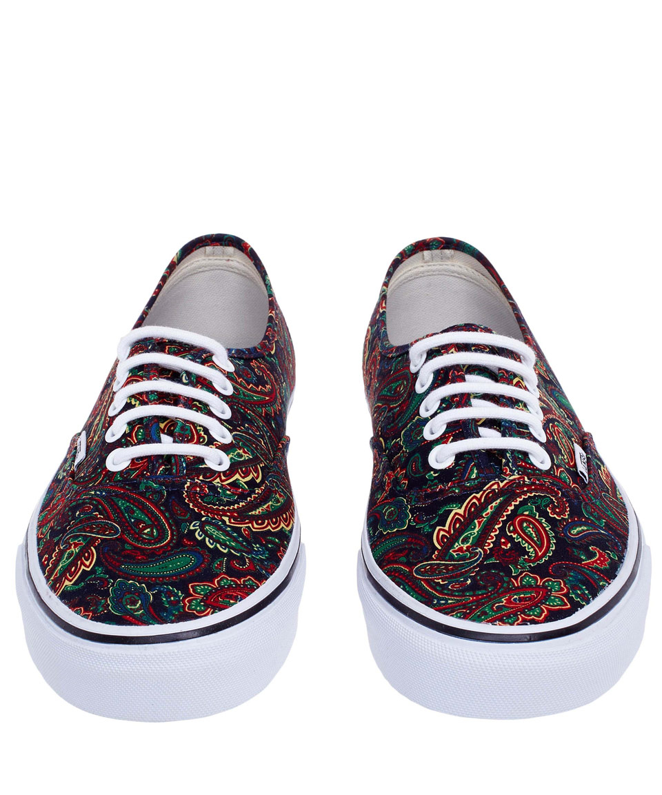e52674a565c2 in Paisley Skate Red Lyst Red Shoes Vans Authentic wn5XxtC8qA