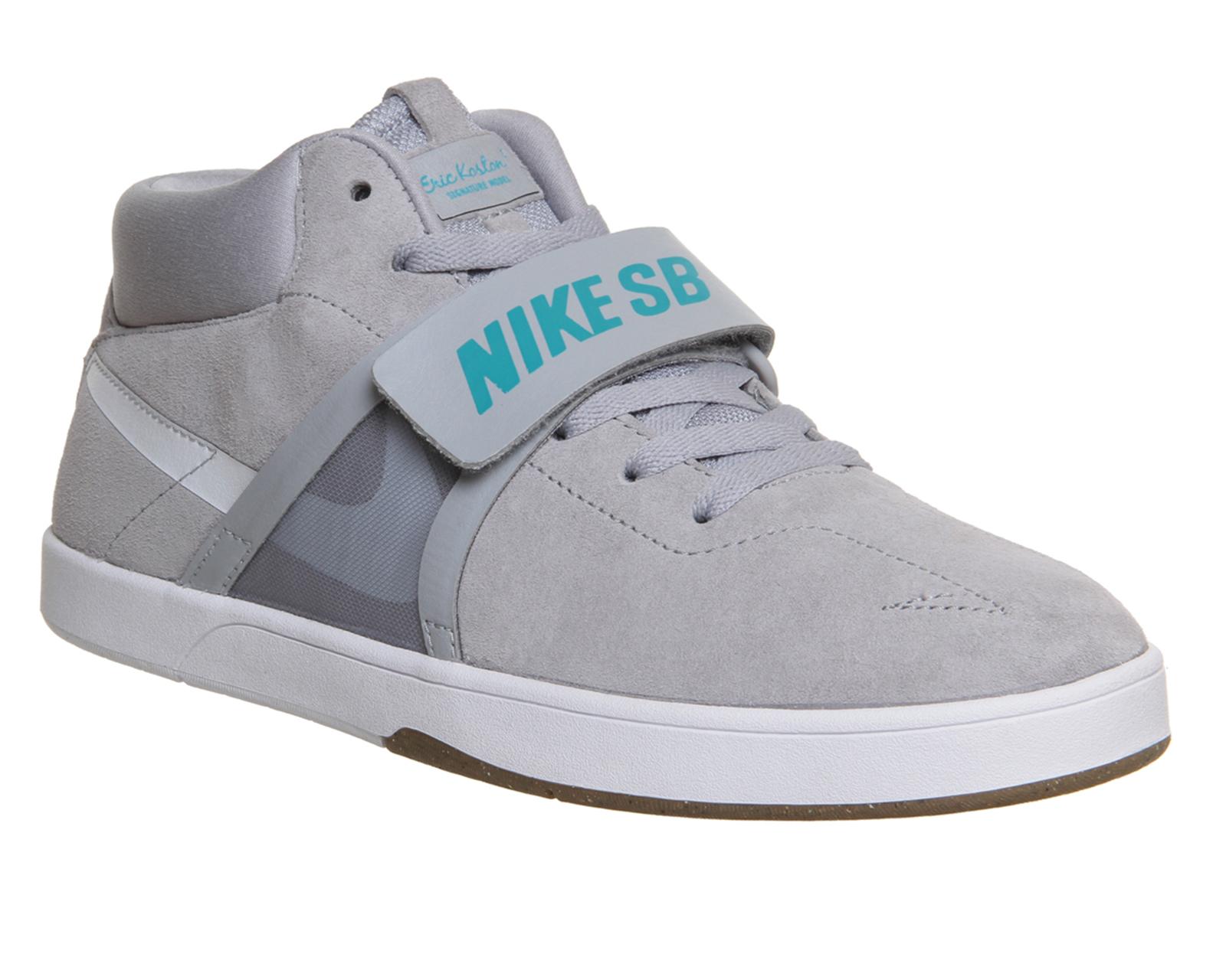 Nike Sb Eric Koston Mid Prem in Grey (Gray) for Men - Lyst