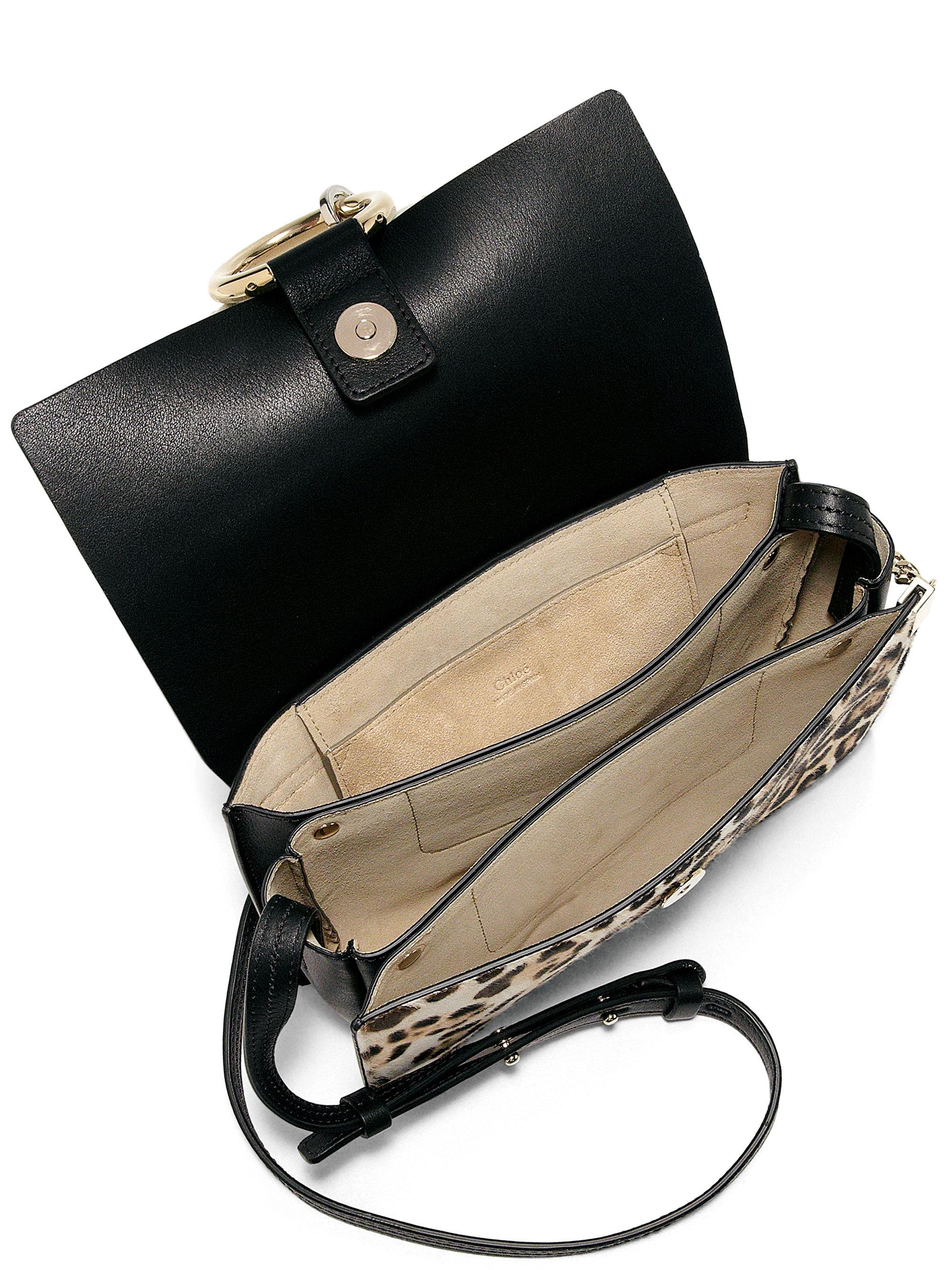 chleo bag - chloe faye small suede and leather cross-body bag, bag chloe