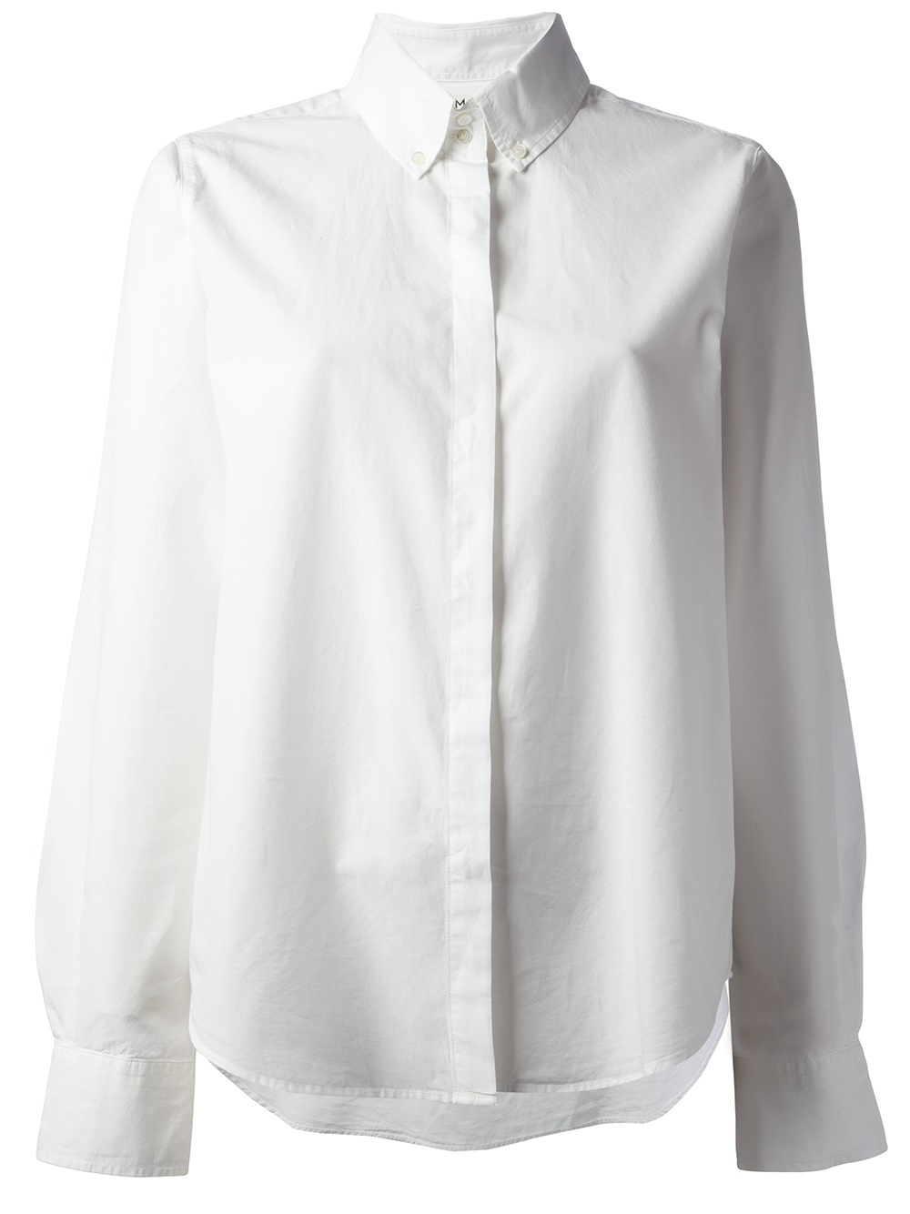 M.i.h Jeans The Swing Shirt in White