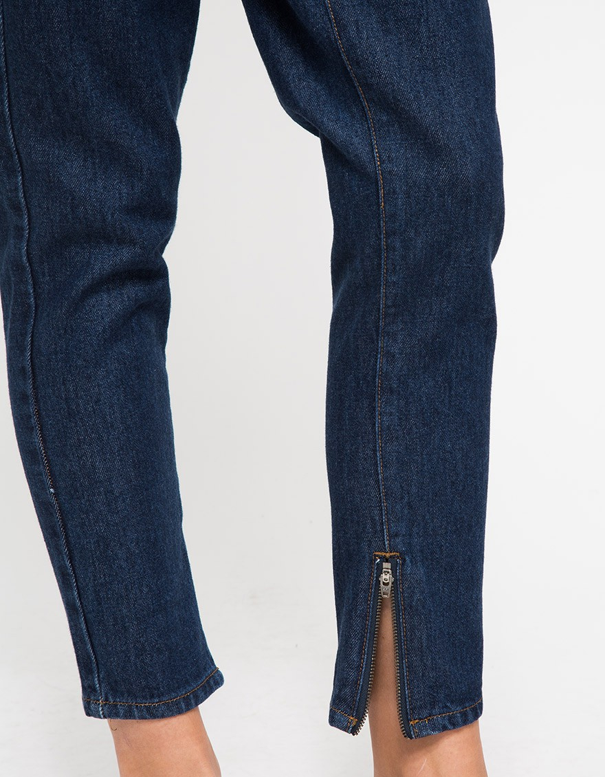 Objects without meaning Boy Zip Jean In Dark in Blue