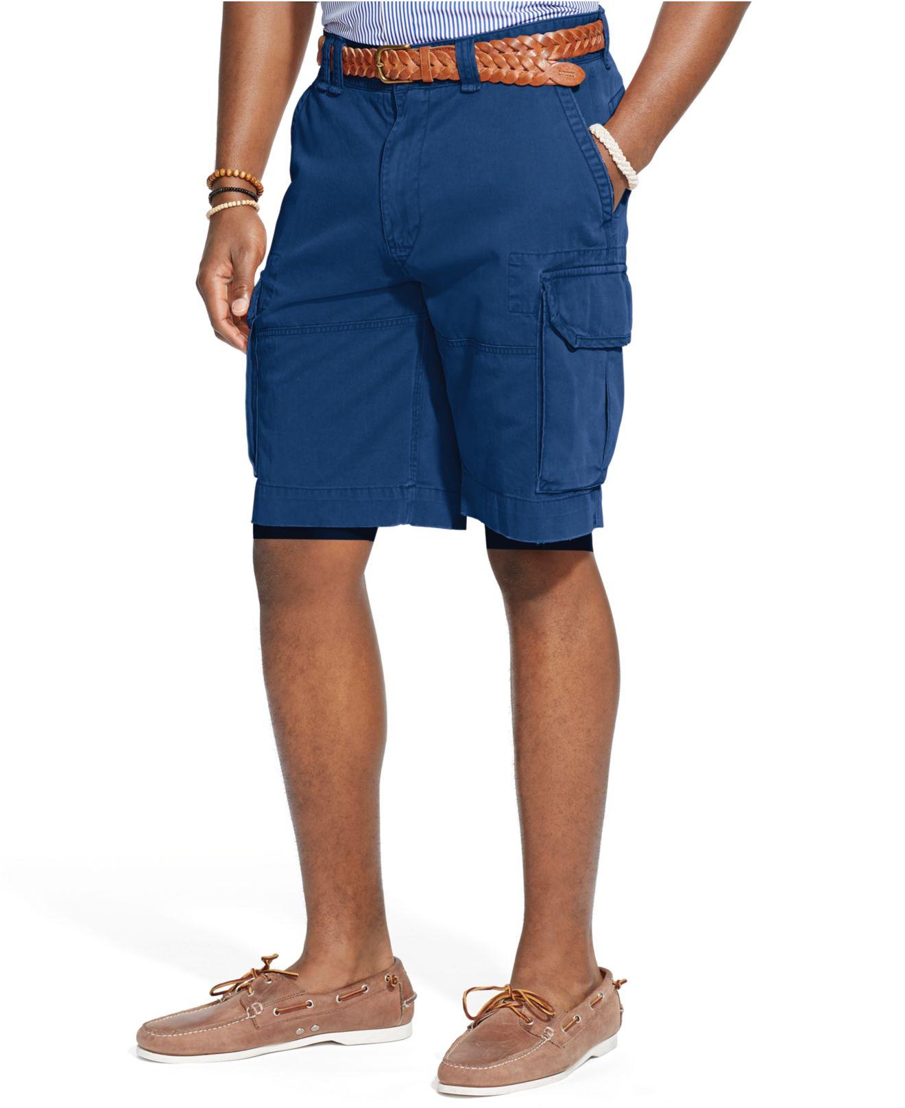 df13c488 Polo Ralph Lauren Mens Shorts Core 10.5 Classic Gellar Cargos | RLDM