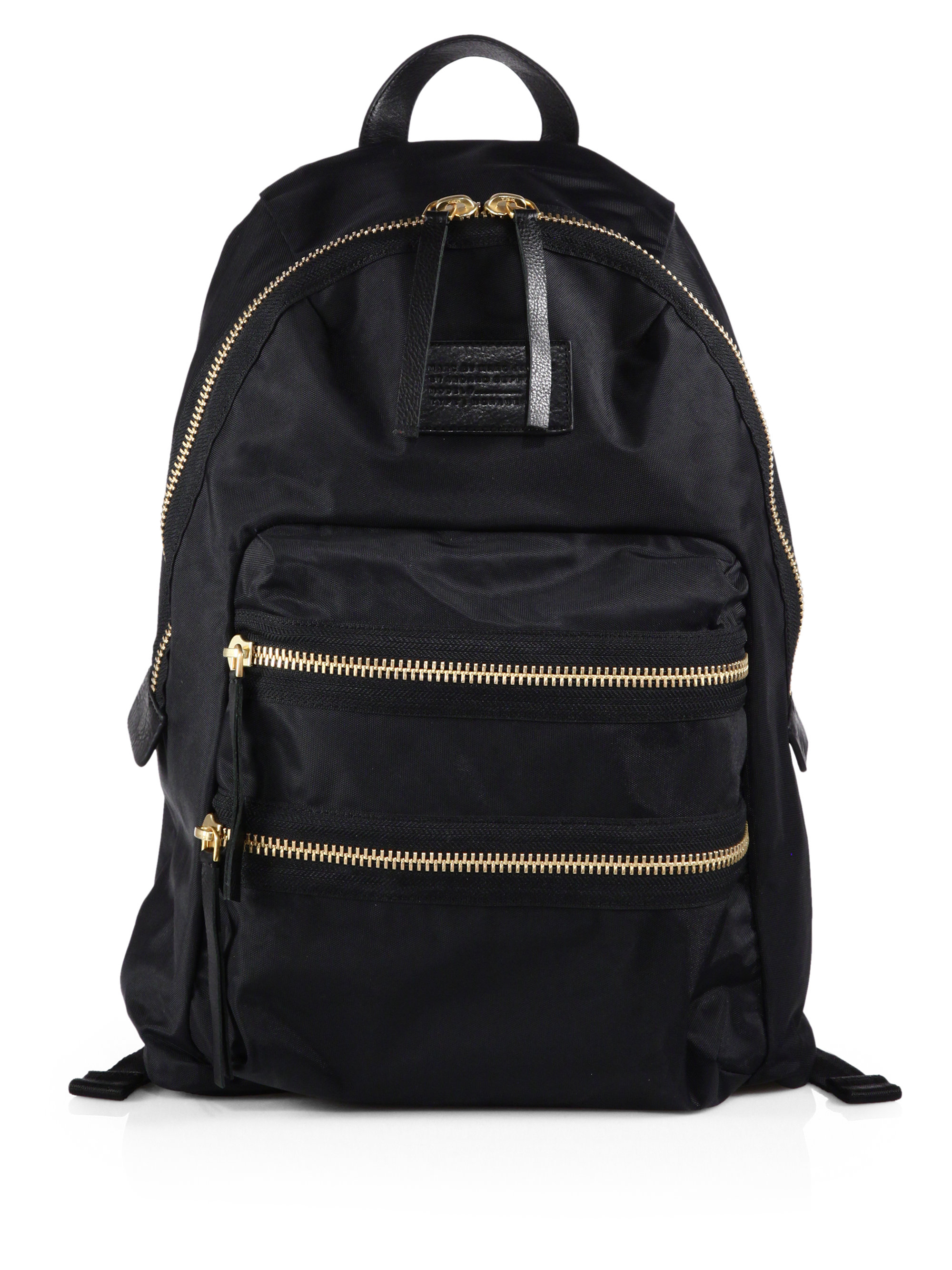 Marc By Marc Jacobs Fabric Backpack Black In Black For