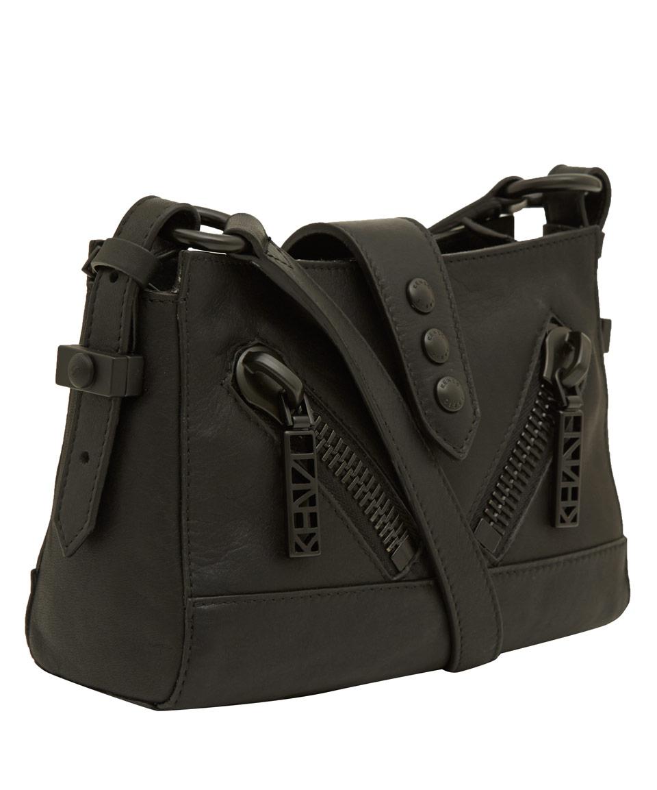Lyst Kenzo Small Black Kalifornia Bag In Black
