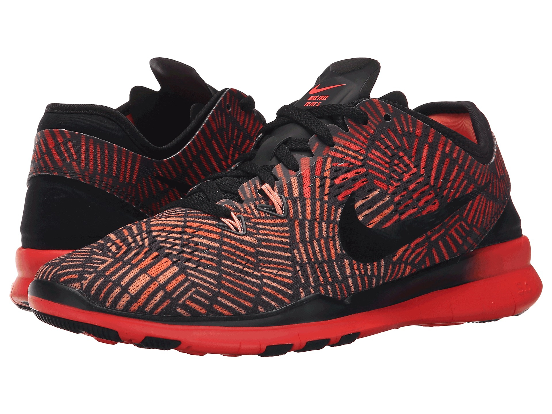 new product 050dd e36a2 ... wholesale lyst nike free 5.0 tr fit 5 prt in red 477df fac73