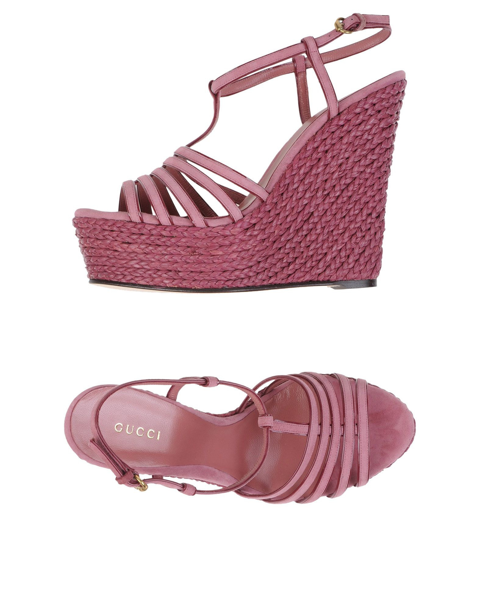 Gucci Sandals in Pink | Lyst