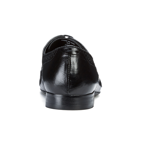 H by Hudson Men's Olave Leather Derby Shoes in Black for Men