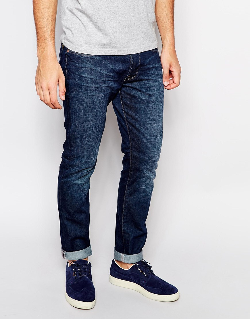 Slim-fit Tapered Denim Jeans Paul Smith