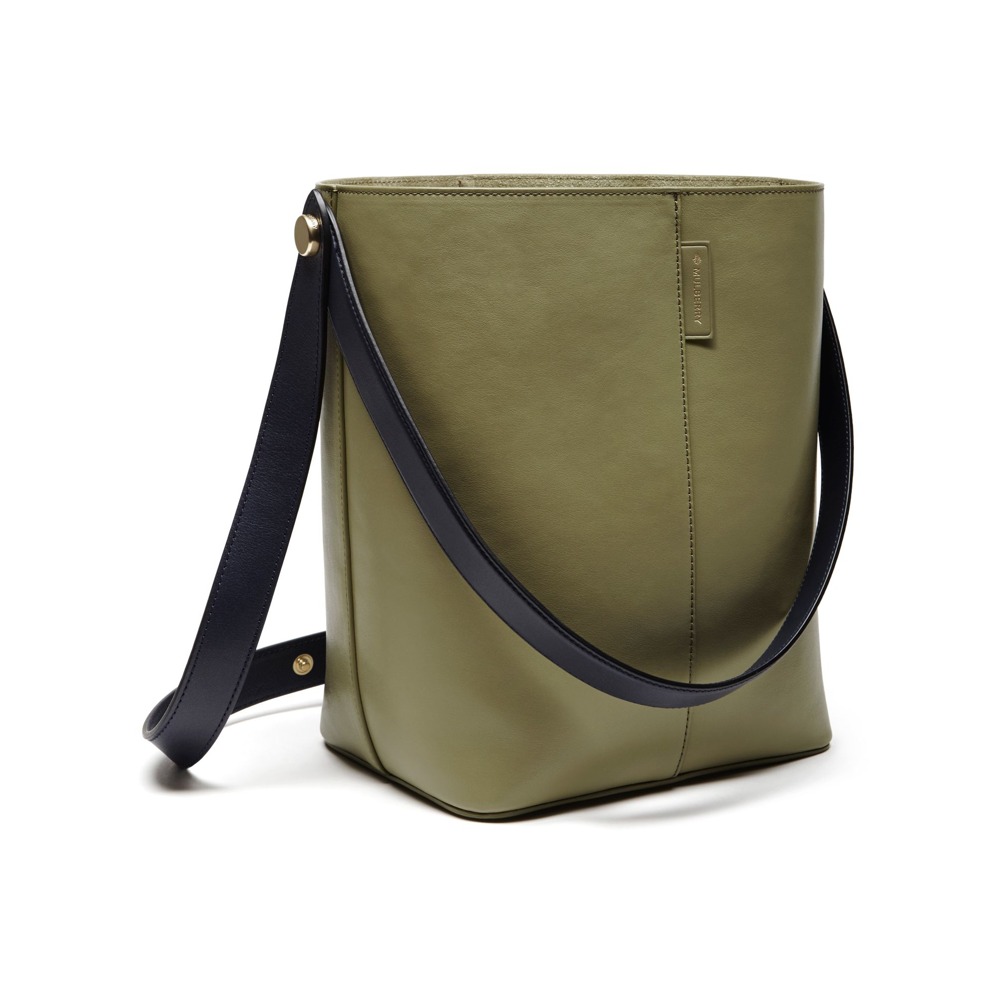 ... best price mulberry small kite leather tote in green lyst 82bc3 e82c3 b1fa9cb1aef6b