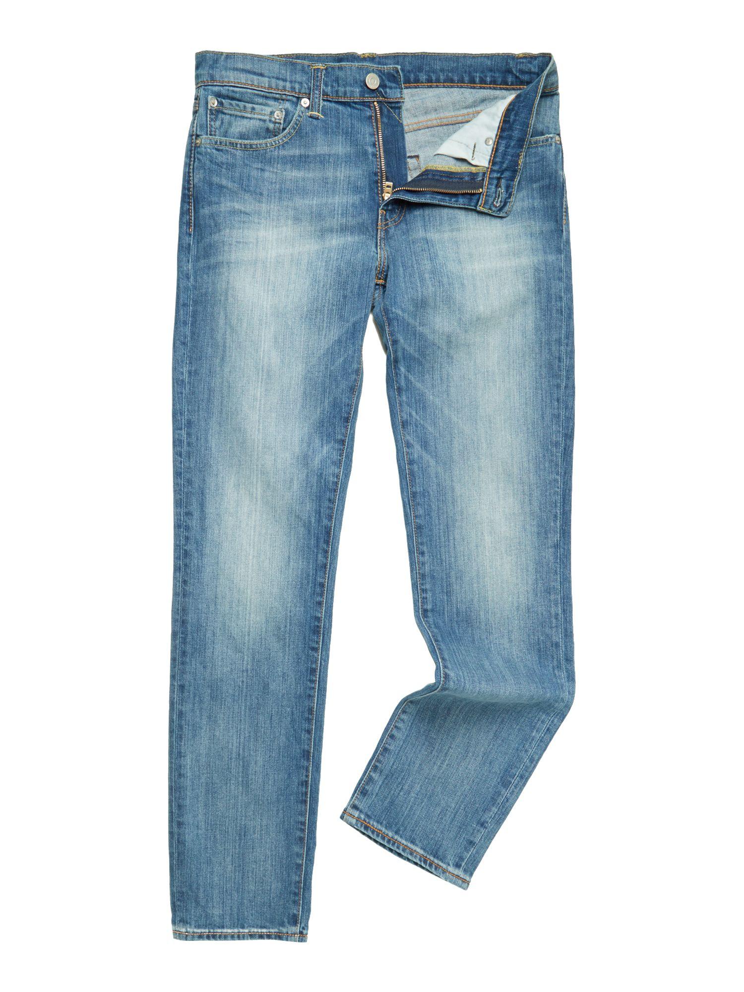 levi 39 s 511 slim fit harbour jean in blue for men lyst. Black Bedroom Furniture Sets. Home Design Ideas