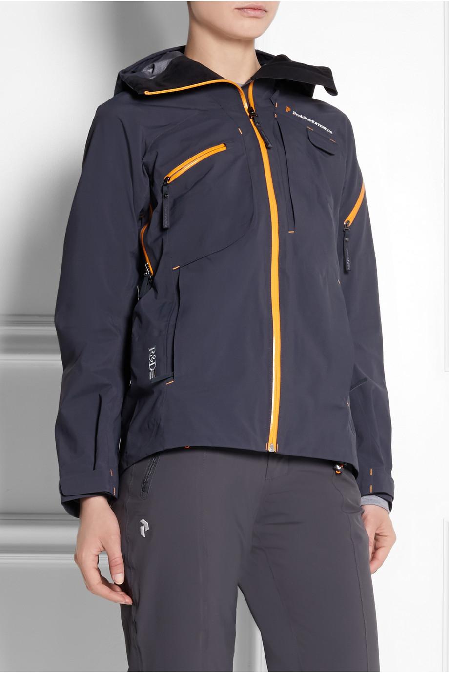 brand new 21264 0220a Peak Performance Black Heli Alpine Gore-Tex® Shell Jacket