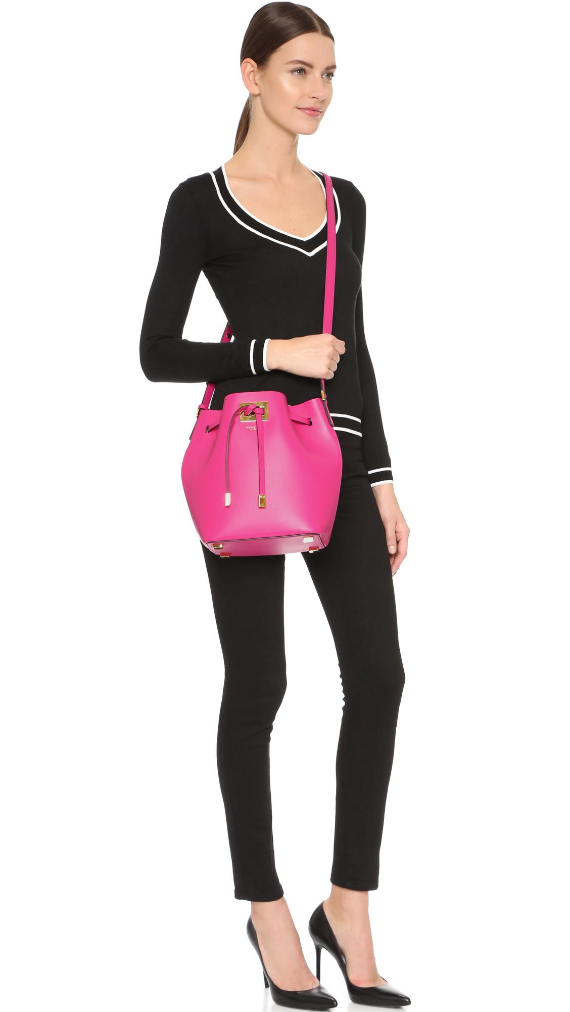 900d22b1d471 Previously sold at Shopbop · Womens Michael By Michael Kors Miranda Womens  Bucket Bags ...