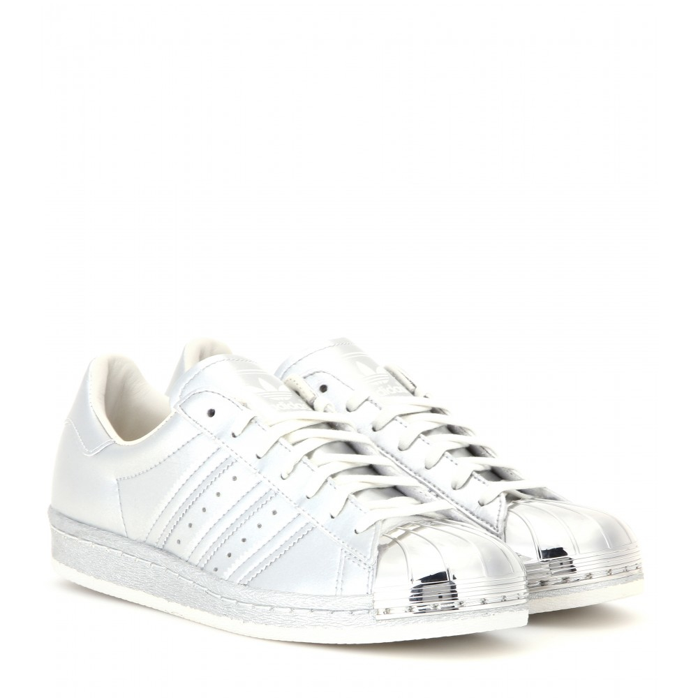separation shoes f62eb a7fcc Adidas Metallic Superstar 80s Metal Toe Sneakers