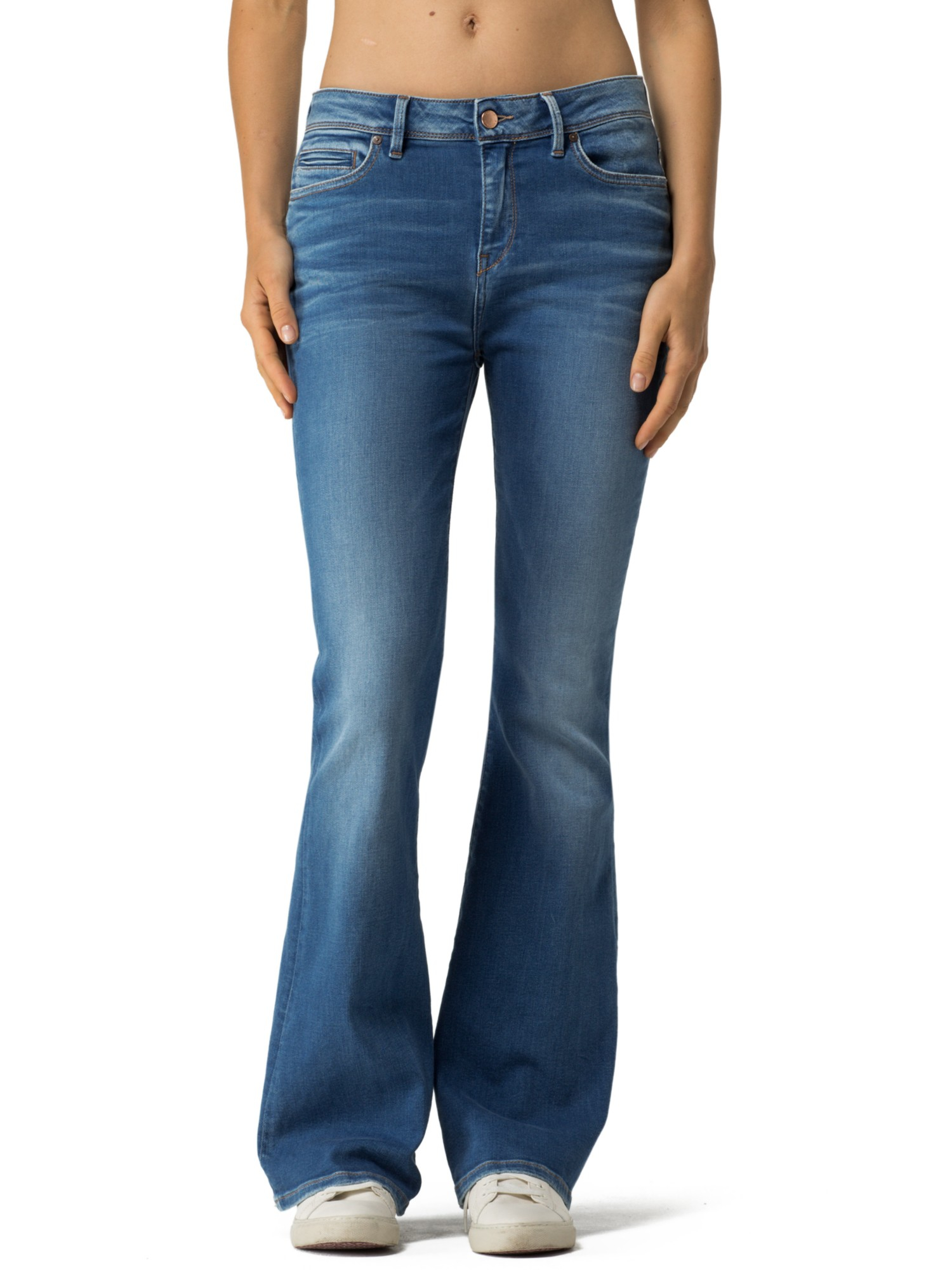 tommy hilfiger bootcut jeans low rise
