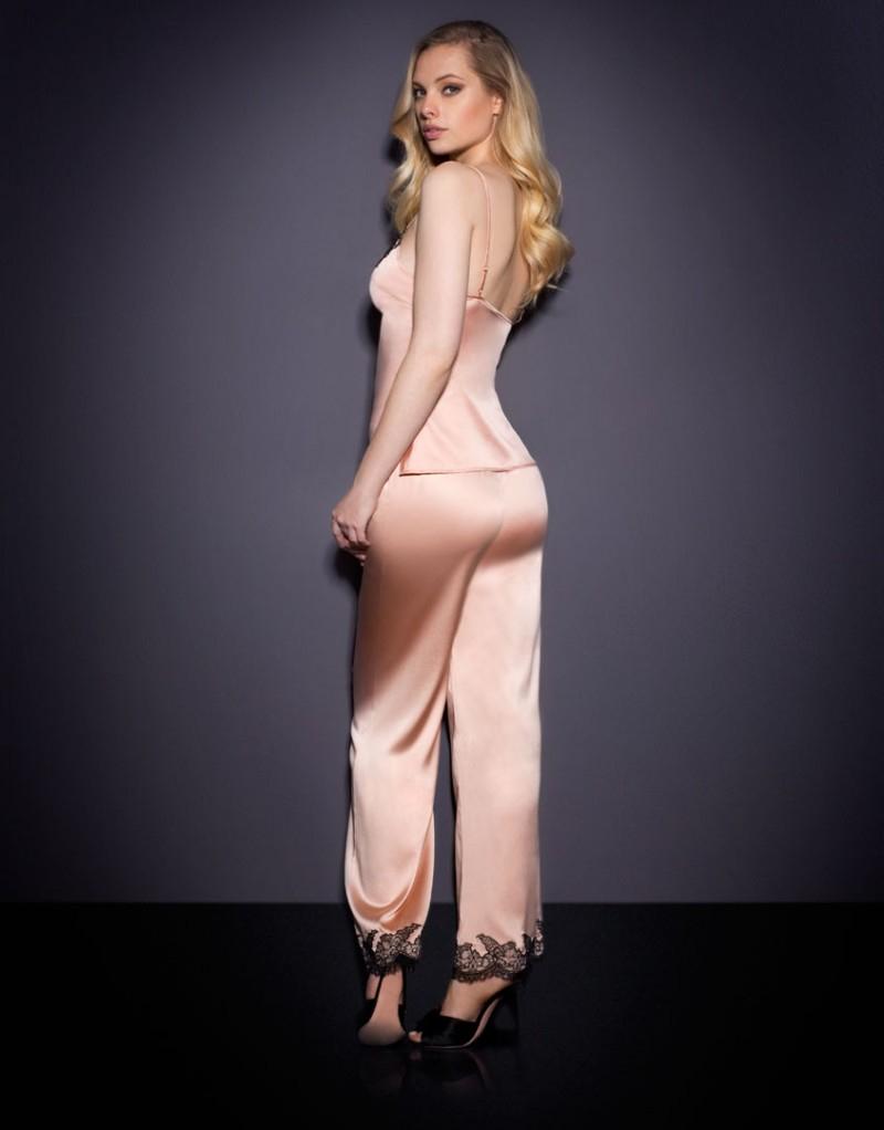 dd789ebe8a Lyst - Agent Provocateur Amelea Pyjama Bottom Pink black in Pink