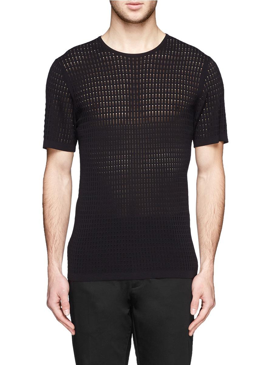 Mens Slim Fit Short Sleeve Black Shirt