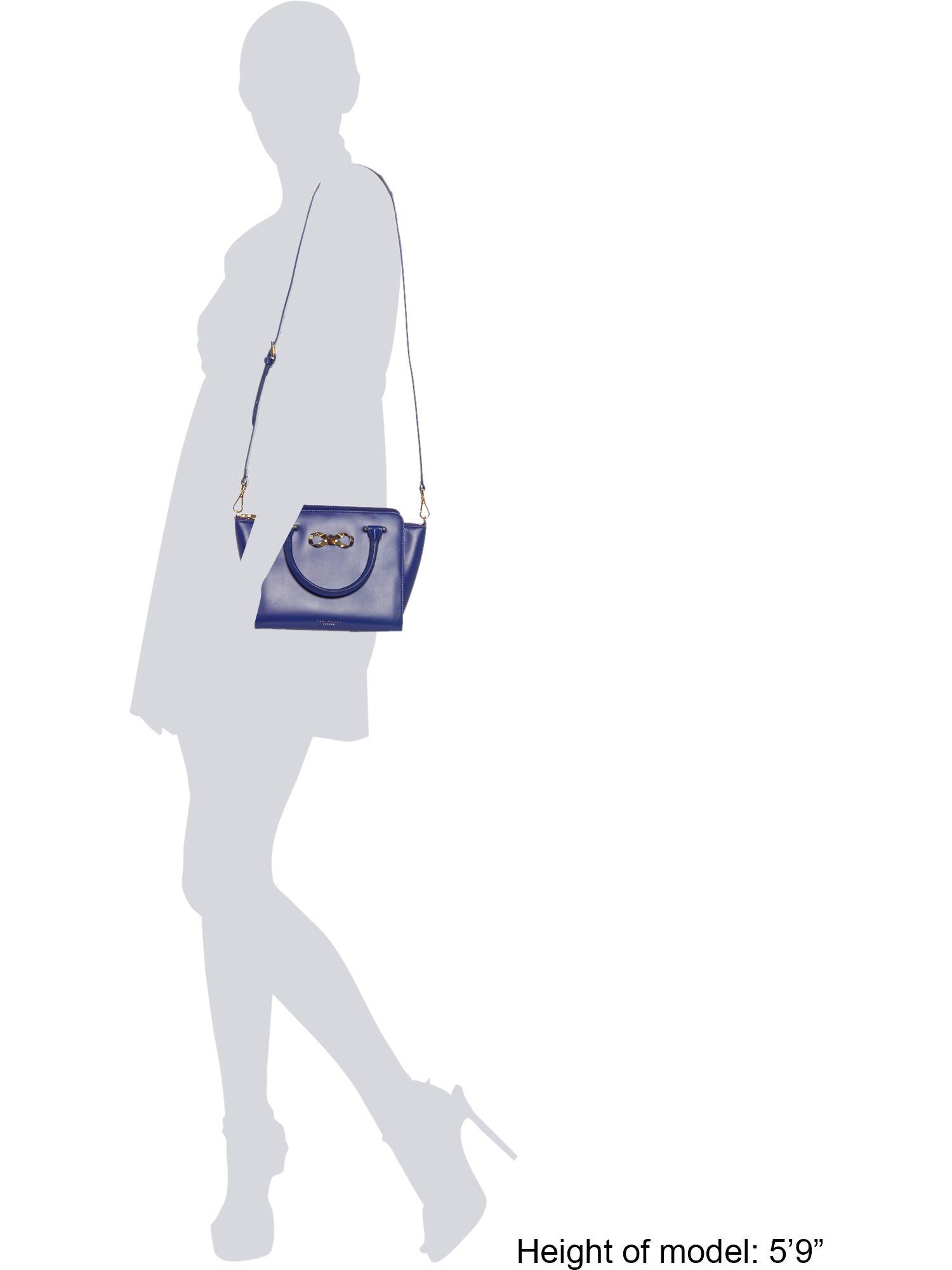 Ted Baker Hollie Blue Loop Bow Tote Bag