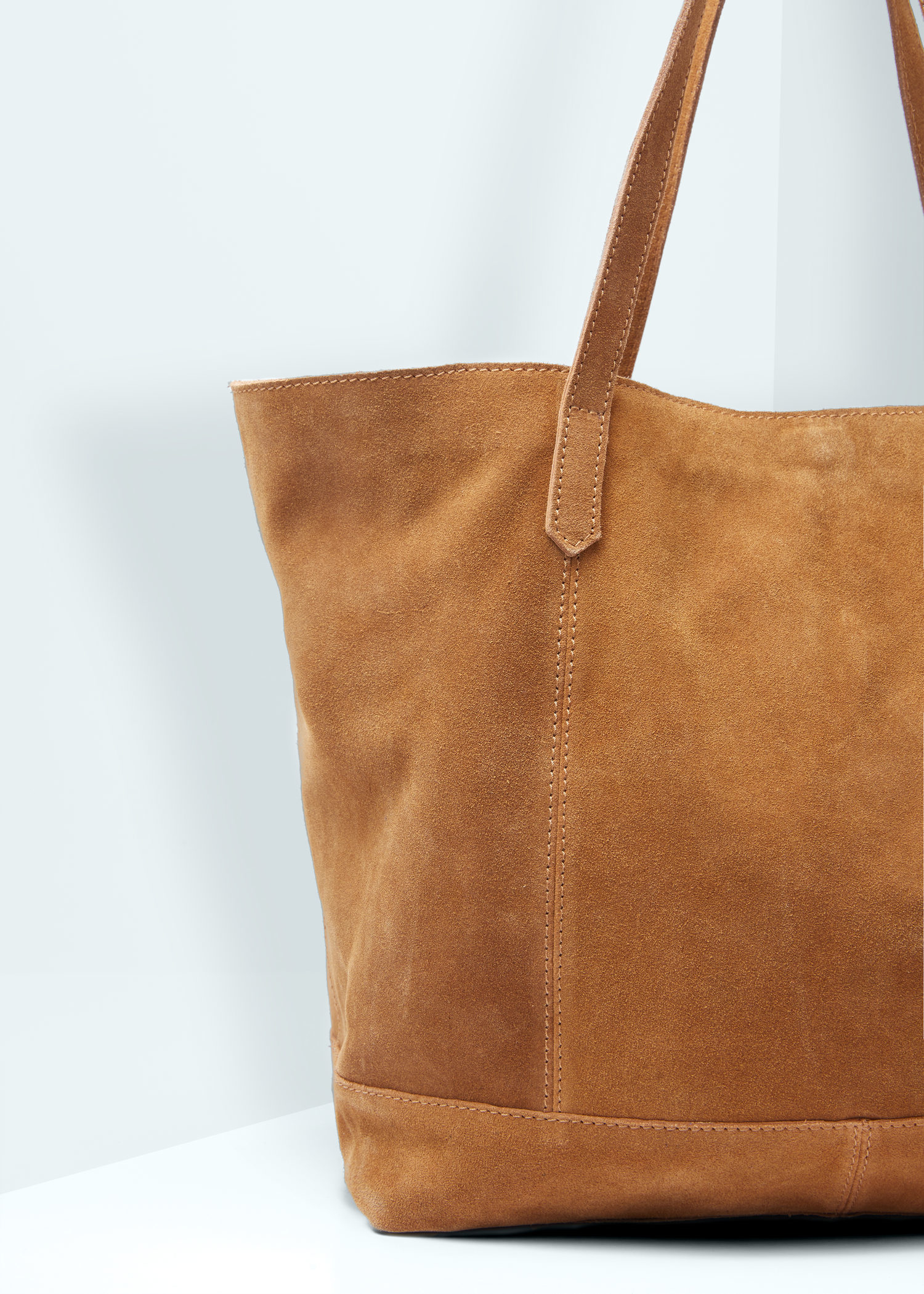 Leather Tote Shopper Bag