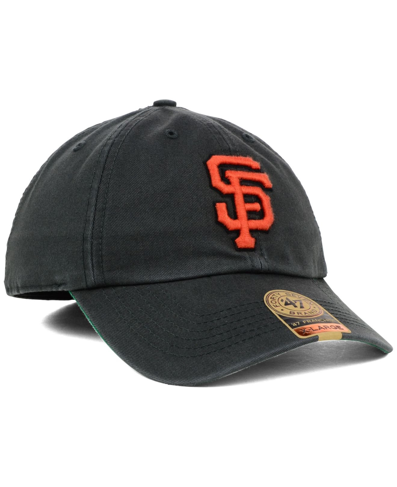 check out the sale of shoes popular brand 47 Brand Cotton San Francisco Giants Mlb Hot Corner '47 Franchise ...