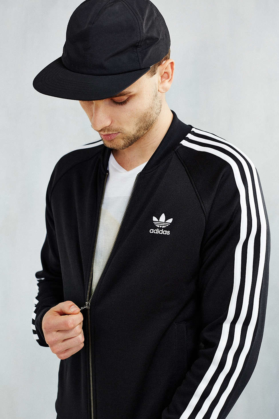 originals adidas jacket black superstar