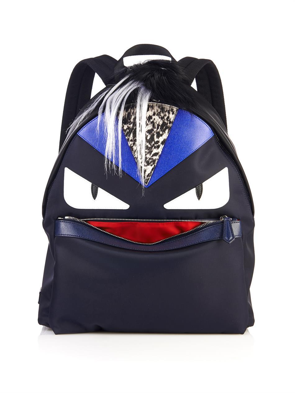 Fendi Monster Backpack Fur