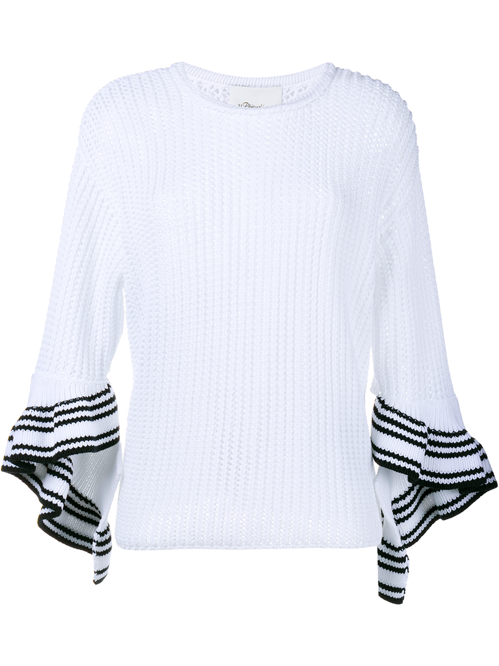 3.1 Phillip Lim sleeve-striped sweater
