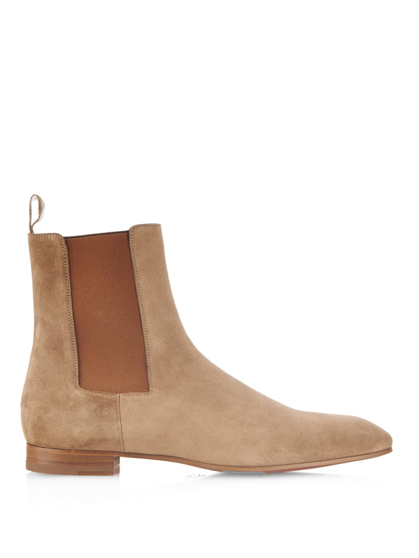 cf03d5b471d Christian Louboutin Natural Roadie Suede Boots for men