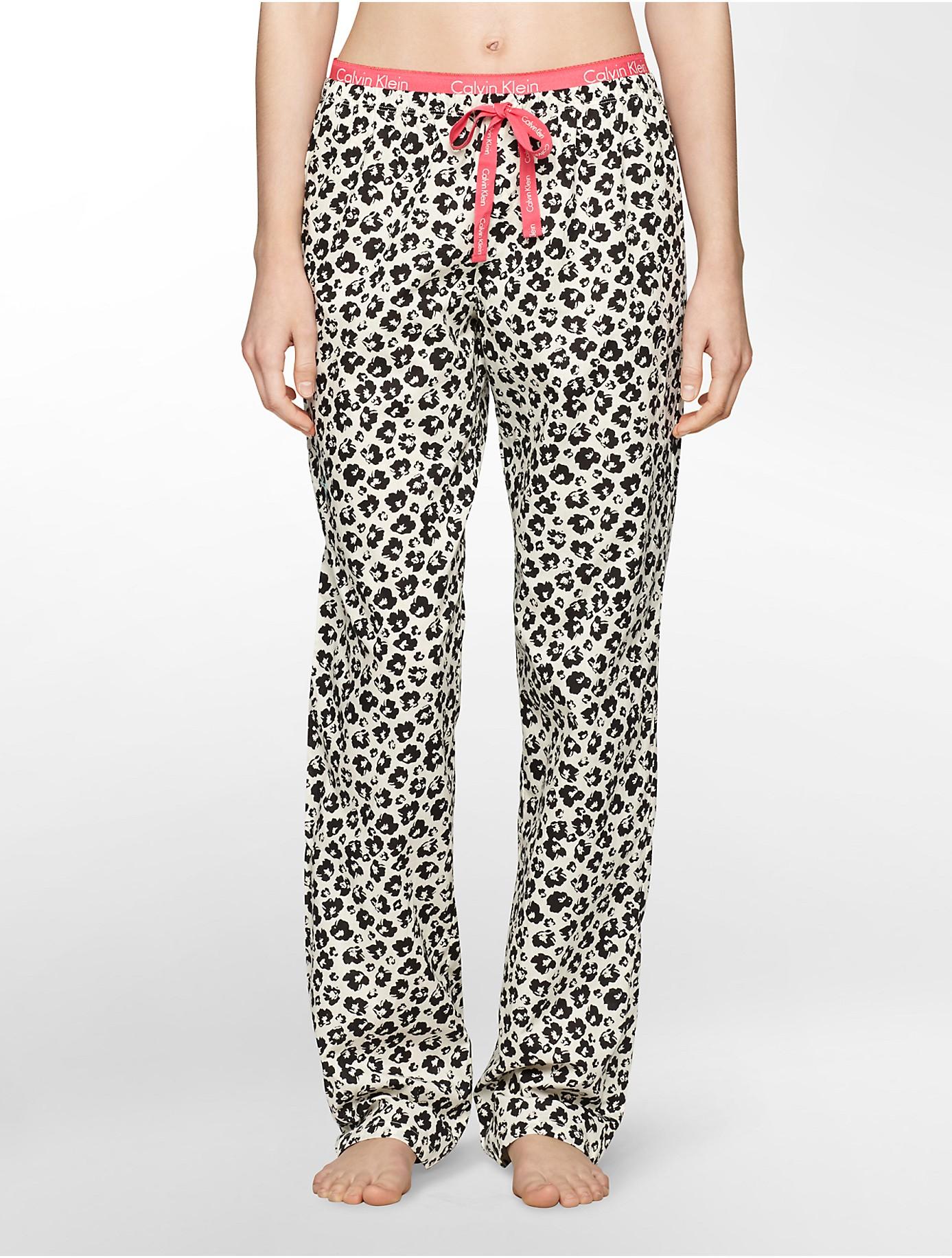 Lyst Calvin Klein Underwear Wovens Print Pajama Pants