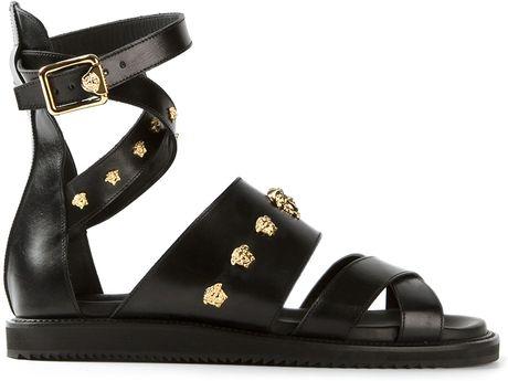 Versace Mens Gladiator Sandals For Sale