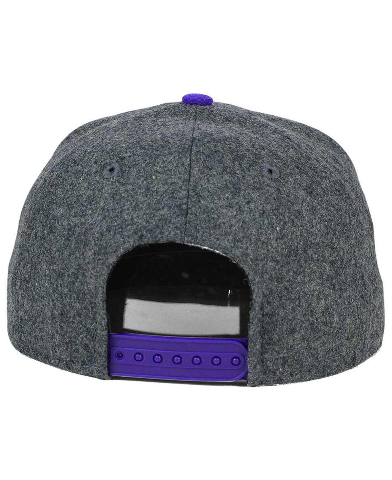 Lyst - Ktz Minnesota Vikings Shader Melt 9fifty Snapback Cap in Gray ... d1060e75a