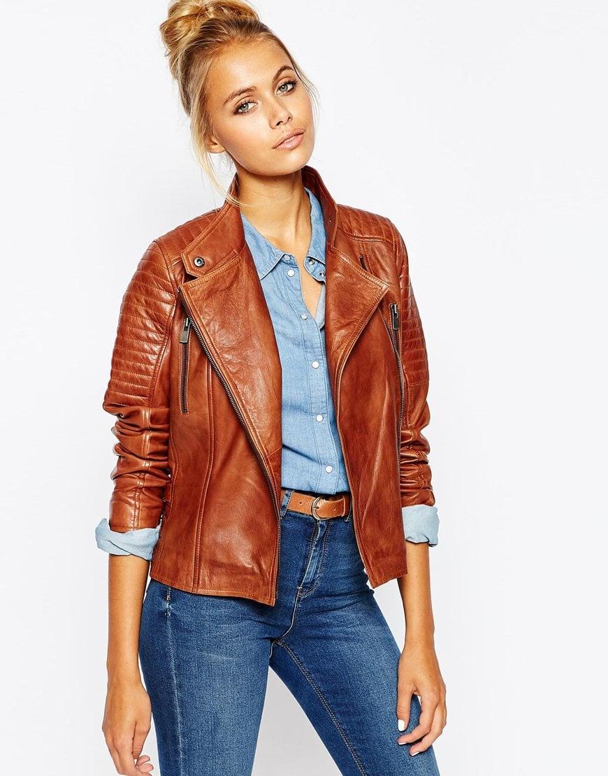 Barneys originals leather jacket