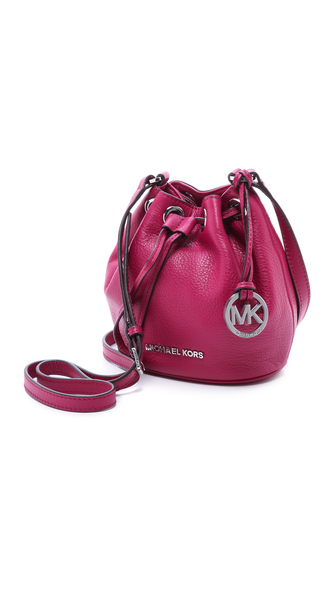 Michael Michael Kors Jules Drawstring Bucket Bag Black